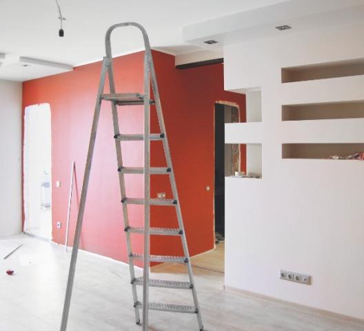 Travaux de peinture intérieure